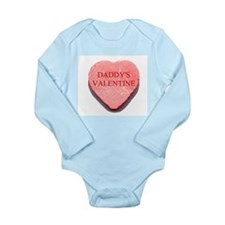 Red Candy Heart - Daddy's Val Long Sleeve Infant B