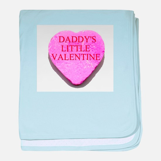 Candy Heart - Daddy's Little baby blanket