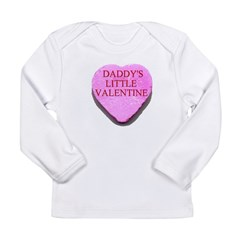Candy Heart - Daddy's Little Long Sleeve Infant T-