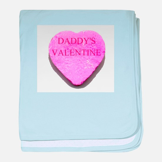Candy Heart - Daddy's Valenti baby blanket