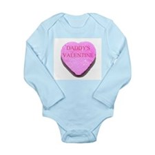 Candy Heart - Daddy's Valenti Long Sleeve Infant B