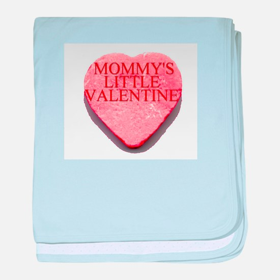 Valentine Candy Heart - Mommy baby blanket