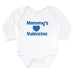 Mommy's Valentine Long Sleeve Infant Bodysuit