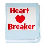 Heart Breaker baby blanket