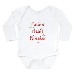 Future Heart Breaker Long Sleeve Infant Bodysuit