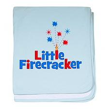 Little Firecracker! baby blanket
