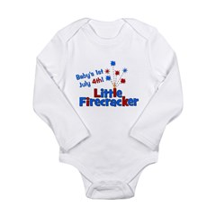 Baby's 1st July 4th! Little F Long Sleeve Infant B