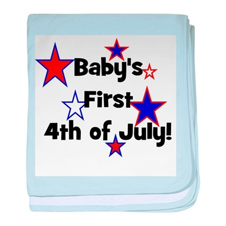 Baby's First 4th of July! baby blanket