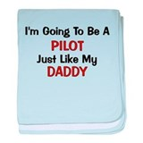 Just like my daddy police Blanket