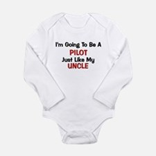 Pilot Uncle Profession Baby Outfits