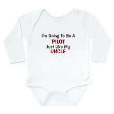 Pilot Uncle Profession Onesie Romper Suit