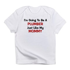 Plumber Mommy Profession Infant T-Shirt