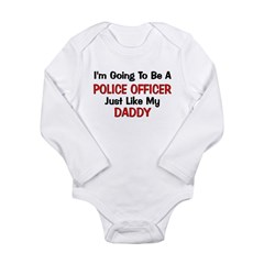 Police Officer Daddy Professi Long Sleeve Infant B