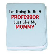 Professor Mommy Profession baby blanket