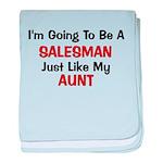 Salesman Aunt Profession baby blanket