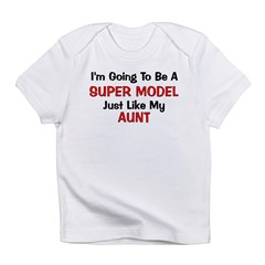 Super Model Aunt Profession Infant T-Shirt