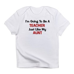 Teacher - Aunt - Profession Infant T-Shirt