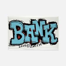 Bank Rectangle Magnet