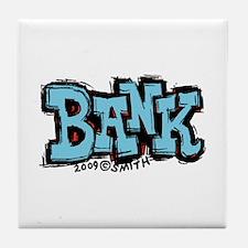 Bank Tile Coaster