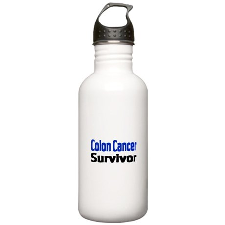 Colon Cancer Stainless Water Bottle 1.0L