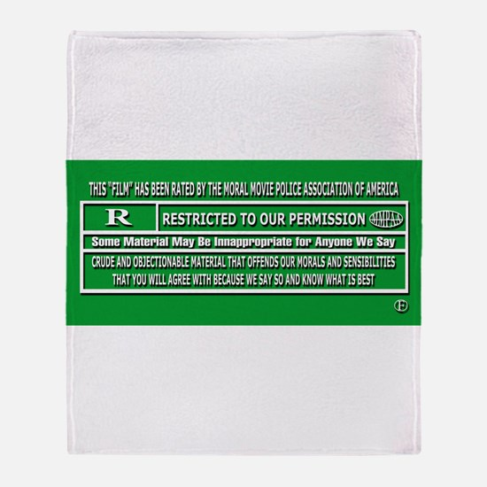 Funny Association Throw Blanket