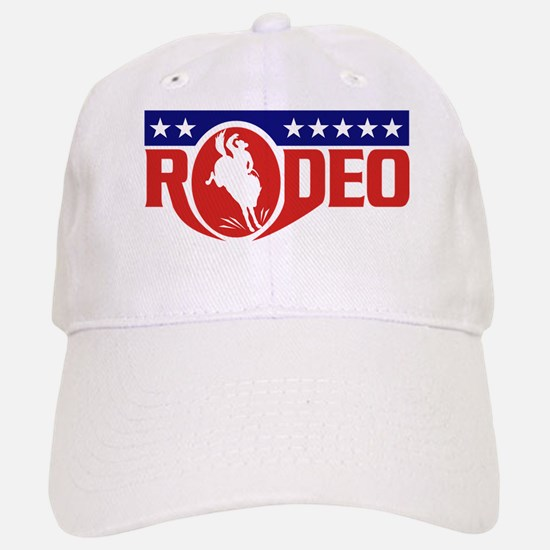 rodeo cowboy bronco Baseball Baseball Cap