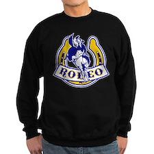 rodeo cowboy bronco Sweatshirt