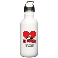 42nd Celebration Water Bottle