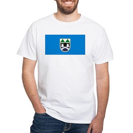 Sarajevo Flag White T-Shirt