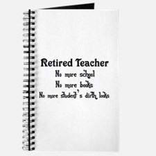 Cute Teacher retirement Journal