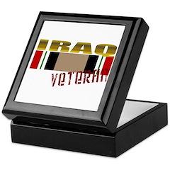 Iraq Veteran Ribbon Keepsake Box
