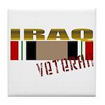Iraq Veteran Ribbon Tile Coaster