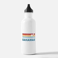 Retro Bahamas Palm Tree Water Bottle