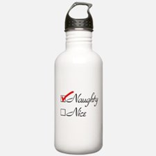 Naughty-check Water Bottle
