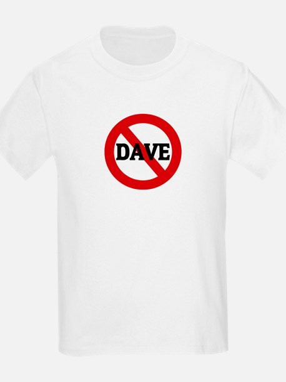 Anti-Dave Kids T-Shirt