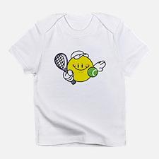 Smile Face Tennis Infant T-Shirt