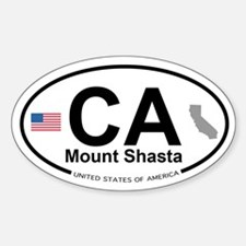 Mount Shasta Decal