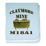 Claymore Mine baby blanket