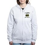 Claymore Mine Women's Zip Hoodie