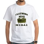 Claymore Mine White T-Shirt