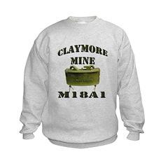 Claymore Mine Sweatshirt