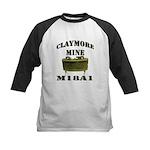 Claymore Mine Kids Baseball Jersey