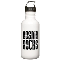 Bosnia Rocks Water Bottle