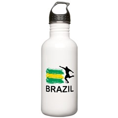 Brazil Football Water Bottle