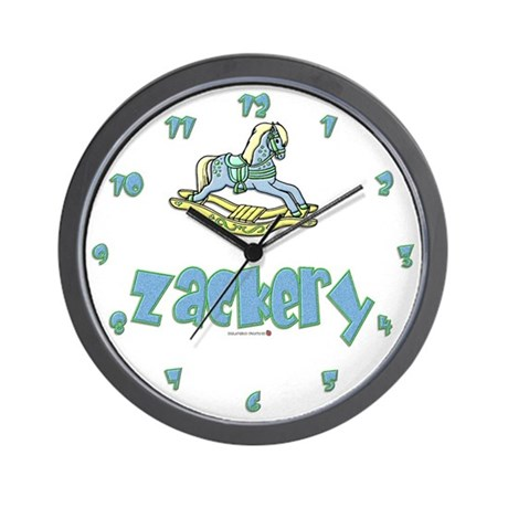 Baby Boy Arrival Wall Clock