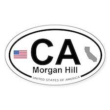 Morgan Hill Decal