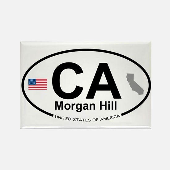 Morgan Hill Rectangle Magnet