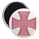Pink Iron Cross 2.25