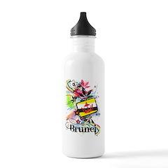 Flower Brunei Water Bottle