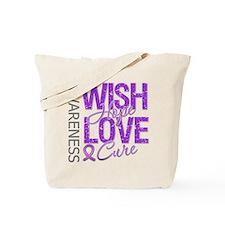 Lupus Wish Hope Love Tote Bag